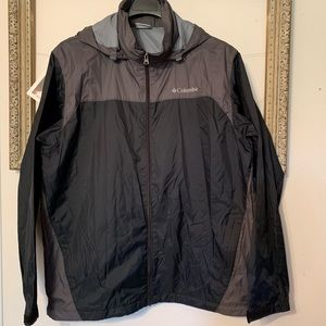 Columbia Color Block Windbreaker Large
